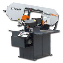 Scie à ruban / pour métaux / semi-automatique / horizontale