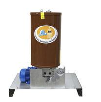 Pompe à graisse / électrique / à piston / compacte