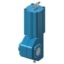 Actionneur de vanne pneumatique / type quart de tour / à piston / à double effet