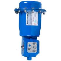 Actionneur de vanne pneumatique / type quart de tour / à membrane / à double effet