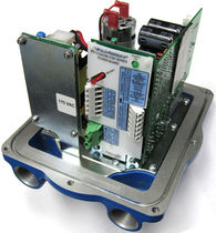Actionneur linéaire / électrique / à ressort de rappel / compact