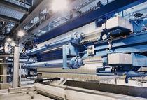 Filtre vertical / pression / industriel / à particules