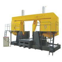 Scie à ruban / pour métaux / pour tuyaux / avec système de refroidissement