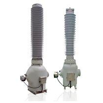 Transformateur de mesure / sec / isolé au gaz SF6 / au sol