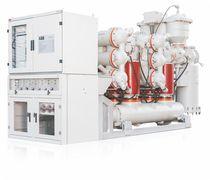 Appareillage de commutation primaire / haute tension / isolé au gaz / pour distribution électrique
