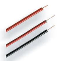 Fil électrique isolé / en cuivre / en thermoplastique / souple