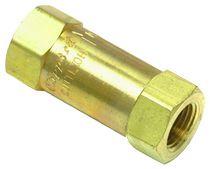 Clapet anti-retour à piston / fileté / hydraulique / pneumatique