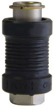 Vanne coulissante / miniature / en laiton nickelé / d'échappement