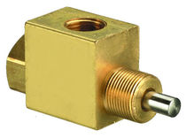Distributeur hydraulique à clapet / actionné pneumatiquement / 3/2 voies / normalement fermé