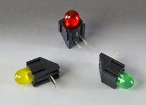 LED colorée / en angle droit / ronde