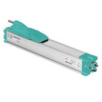 Transducteur de déplacement linéaire / à potentiomètre / analogique