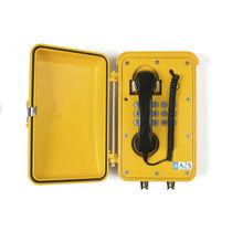 Téléphone IP66 / IP67 / résistant aux intempéries / avec porte de protection