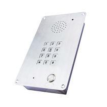 Téléphone IP65 / d'urgence / à montage affleurant