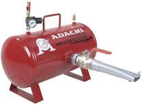 Réservoir pour air comprimé / de stockage / en métal / horizontal