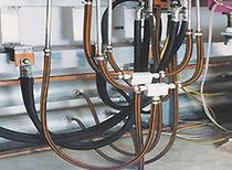 Tuyau flexible pour fluide / de transport / hydraulique / rond