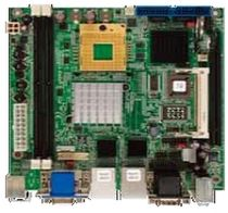 Carte mère mini-ITX / Intel® Core™ 2 Duo / Intel® / DDR2 SDRAM