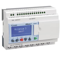 Automate programmable compact / sur rail DIN / avec E/S intégrée / entrées analogiques