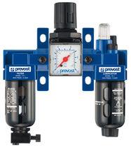 Filtre régulateur lubrificateur à air comprimé / modulaire / en aluminium / pression