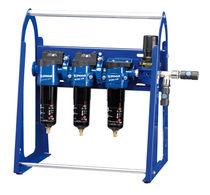 Unité de filtration à charbon actif / à cartouche / pour air comprimé / grande efficacité
