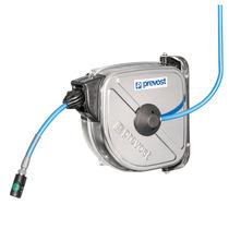 Enrouleur de tuyau / à rappel automatique / fermé / pour air comprimé