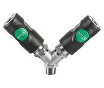 Raccord push-to-lock / en Y / pneumatique / en composite