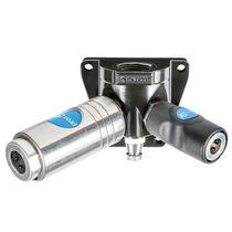 Raccord push-to-lock / en Y / pneumatique / en aluminium
