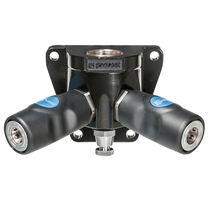 Raccord push-to-lock / en Y / pneumatique / alliage d'aluminium