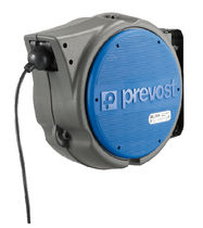 Enrouleur de câble électrique / à rappel automatique / pivotant / antichoc