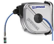 Enrouleur à rappel automatique / fermé / pour air comprimé / en inox