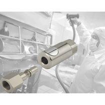 Raccord rapide / pour air comprimé / à haute pression / de sécurité