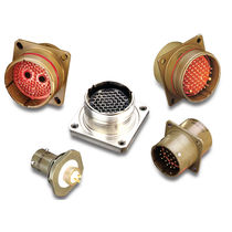 Connecteur RF / DIN / circulaire / à blindage EMI