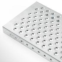 Caillebotis en métal / tôle / pour rayonnage
