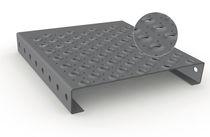 Caillebotis en acier galvanisé / aluminium / tôle / antidérapant