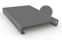 Caillebotis en acier / en acier galvanisé / aluminium / à surface pleine