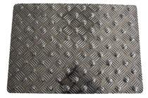 Tapis antidérapant / en aluminium / podotactile / avec relief diamant