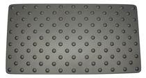 Tapis antidérapant / en aluminium anodisé / podotactile