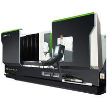 Centre d'usinage CNC 5 axes / vertical / à colonne mobile / à table rotative