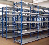 Rayonnage entrepôt de stockage / pour charges longues / mi-lourd