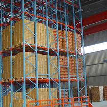Rayonnage à palette / entrepôt de stockage / pour charges lourdes / pour boîtes