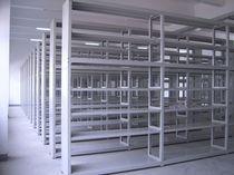 Rayonnage entrepôt de stockage / pour charges légères / mi-lourd