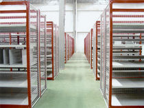 Rayonnage entrepôt de stockage / pour charges légères / mi-lourd / mono-face