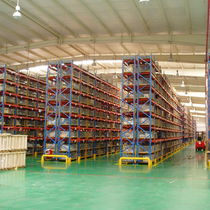Rayonnage à palette / entrepôt de stockage / pour charges lourdes / de grande hauteur