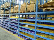 Système de rack à palette / entrepôt de stockage / pour charges lourdes / de grande hauteur