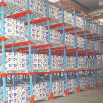 Rayonnage à palette / entrepôt de stockage / pour charges lourdes / mi-lourd