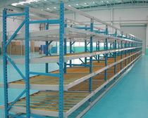 Rayonnage entrepôt de stockage / pour charge moyenne / dynamique / en acier