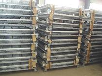 Caisse-palette en acier / grillagée / de manutention / pliable
