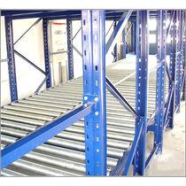 Rayonnage entrepôt de stockage / pour charge moyenne / léger / dynamique