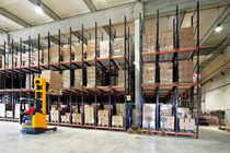 Rayonnage entrepôt de stockage / pour charge lourde / pour boîte / dynamique