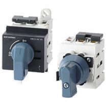 Interrupteur-sectionneur basse tension / DC / pour applications photovoltaïques / sur rail DIN
