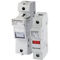 Interrupteur-sectionneur fusible / basse tension / pour applications photovoltaïques / sur rail DIN